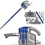cleanmaxx Multi Sensation – beutelloser Zyklon Handstaubsauger Blau für 34,99€ (statt 55€)