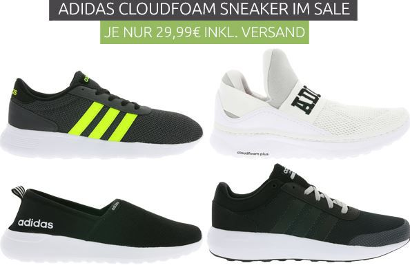 Adidas NEO Cloudfoam Swift Racer Herren Sneaker für 29,99€