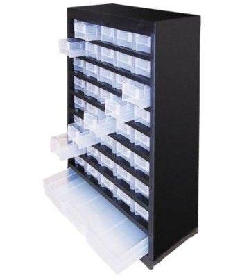 Dema   Sortimentskasten Kleinteilemagazin 41 Fächer für 19,90€