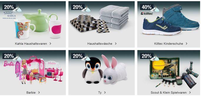 20% Rabatt auf BARBIE, Sportbekleidung uvm.   Galeria Kaufhof Mondschein Angebote