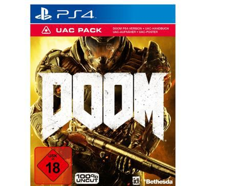 PS 4 Game: Doom   100% uncut ab 19€
