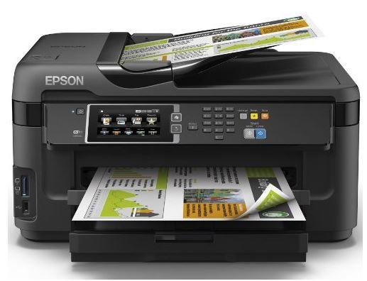 Epson WorkForce WF 7610DWF   Multifunktionsgerät mit Duplexdruck in DIN A3 für 119,90€ (statt 145€)