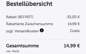 F1rst Bar Eiweißriegel (24x60g) 15€ inkl. Versand (MHD 08/2017)