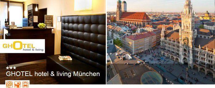 Animod Hotelgutschein: 2 Personen 2 Nächte GHotel München für nur 129,98€