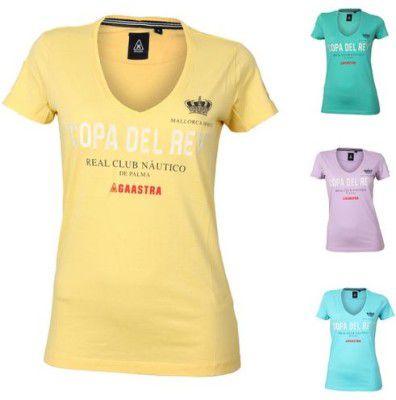 Gaastra  Carvel Tee WN   Damen T Shirt mit V Neck ab 17,95€