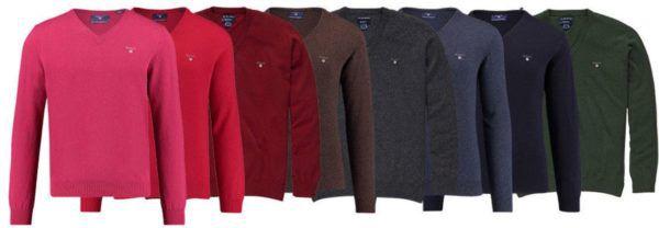 Gant Herren Woll V Pullover für 59,90€ (statt 80€)