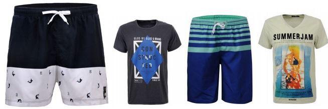 Glo Story mini Sale: Motiv T Shirts für 4,99€ oder Badehosen für 6,99€