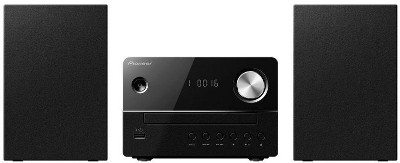 Pioneer X EM16   schwarze HiFi Anlage mit CD, USB und Lautsprechern für 79,99€
