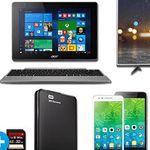 Saturn Super Sunday Deals: u.a. Lenovo C2 (8 GB)  5 Zoll Smartphone statt 110€ für 79€