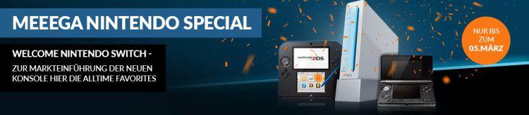 ReBuy mit 15% Rabatt auf Nintendo Spiele (MBW: 20€)