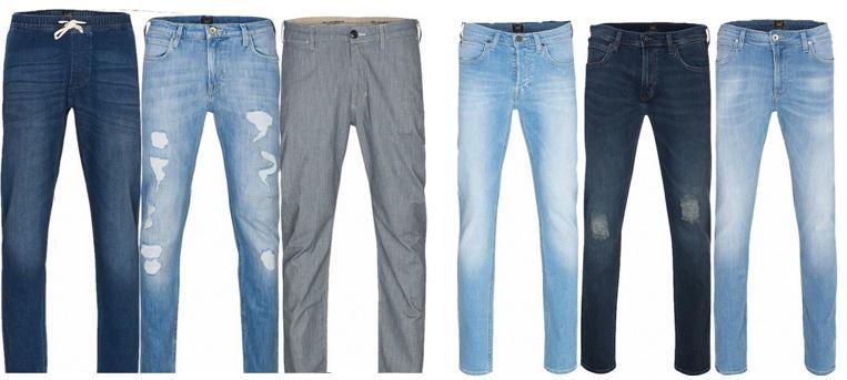 Lee Herren Jogg Jeans   diverse Modelle statt 33€ für je nur 19,99€