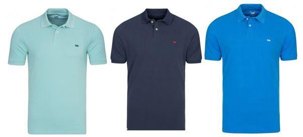 Lee Herren Polos Shirts zum Preis von je nur 12,99€