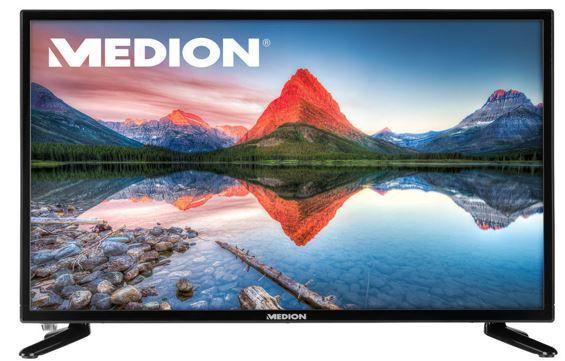 MEDION LIFE P12304   23,6 Zoll FullHD TV mit DVB T2 für 119,99 (statt 160€)