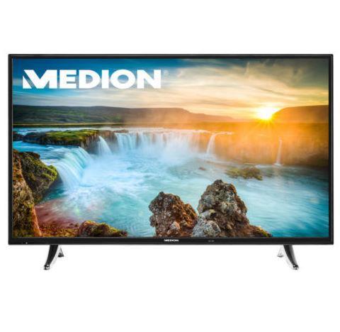MEDION LIFE P18105   49 Smart Full HD mit DVB T2 und PVR  für 399,99€