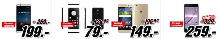 KNALLER! Media Markt Ausverkauf! Günstige Phones (S7 nur 379€) + gratis Powerbank 5000 mAh