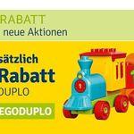 15% Rabatt auf Lego Duplo bei myToys – z.B. Kretiv-Steinebox für 25,49€ (statt 35€)