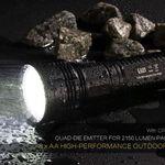 Nitecore EA81 LED-Taschenlampe für nur 51,27€ (statt 111€)
