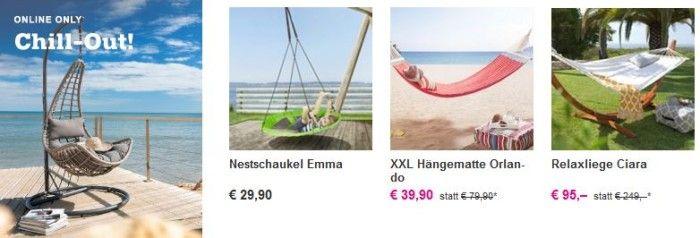 Online Chill Out e1490712915588 Mömax mit  Hollywood  u. Nestschaukeln,  Hängesessel & Relaxliegen Sale bis 30%