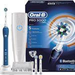Braun Oral-B PRO 5000 Elektrische Zahnbürste für nur 56,30€ (statt 76€)