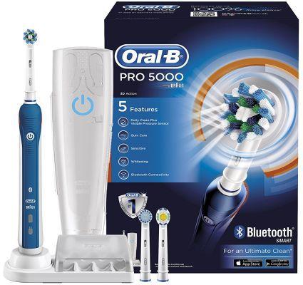 Braun Oral B PRO 5000 Elektrische Zahnbürste für nur 59,95€ (statt 86€)