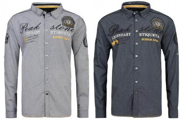 PEAKSTONE Herren Hemden 3XL 5XL statt 28€ für 7,99€