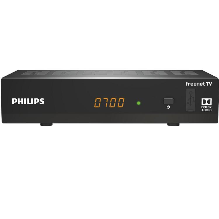 Philips DTR3502B   DVB T2 HD Receiver für 69€ (statt 79€)