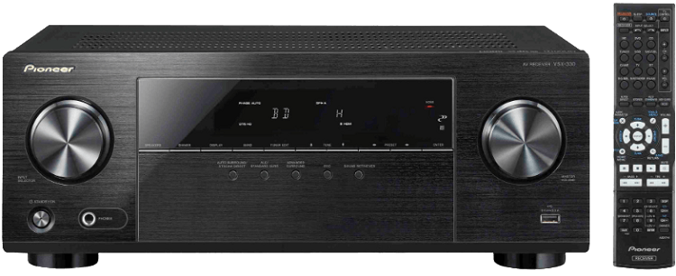 Pioneer VSX 330K   AV Receiver für 189€ (statt 203€)