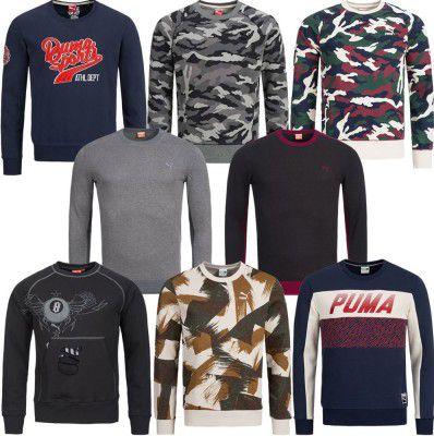 PUMA Crew Herren Sweatshirts für je 24,99€