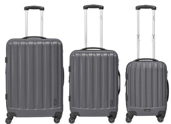 Packenger Velvet Spinner Koffer Set   3 teilig für je Set 119€