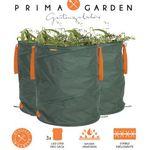PRIMA GARDEN – 3x Gartenabfallsäcke je 160l für 29,90€