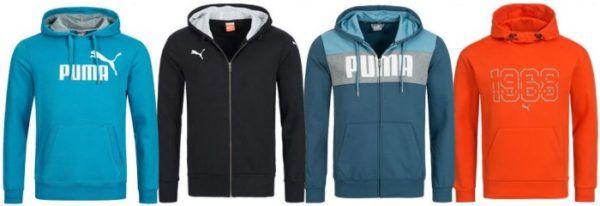 Puma Herren Hoodies bis 2XL für je 27,99€
