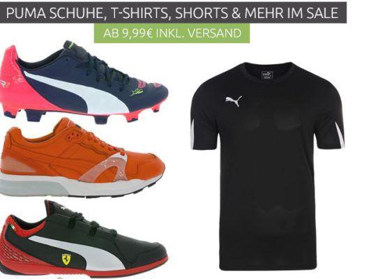Puma Outlet46 Sale   mit Sneakern, Shorts, Shirts ab 4,99€   z.B. die Puma Pro Training Sporttasche für 9,99€