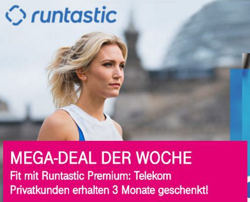 Nur für Telekom Kunden: 3 Monate Runtastic Premium geschenkt – endet automatisch