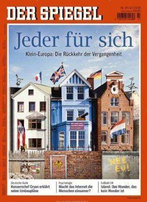 Der Spiegel im Jahresabo (52 Ausgaben) für 239,20€ + 125€ Verrechnungsscheck
