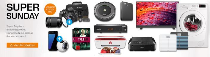 Saturn Super Sunday Deals   u.a. IROBOT Roomba 681 Saugroboter statt 403€ für 379€