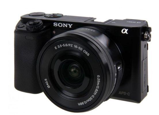 Sony Alpha 6000 Systemkamera + Objektiv SEL P1650 (16 50mm) für 498€ (statt 569€)