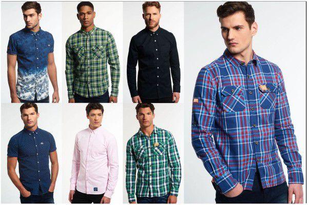 Superdry Herren Hemden   neue Modelle für je 24,95€