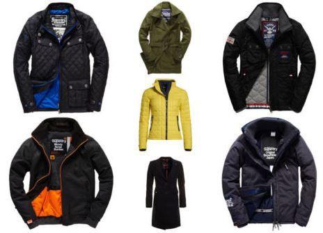 Superdry Herren und Damen Pullover und Jacken für 59,95€