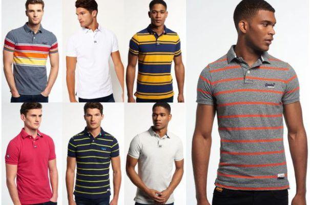Superdry Herren Poloshirts versch. Modelle und Farben für je 21,95€