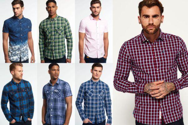 Superdry Herren Hemden   neue Modelle für je 25,95€