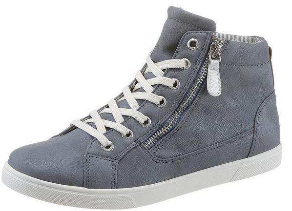 Tom Tailor   high cut Sneaker bis 43 für je 44,99€
