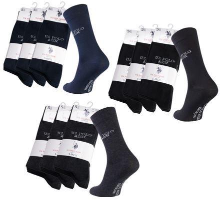 U.S. POLO ASSN.   15er Pack Herren Business Socken für 12,99€