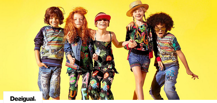 Desigual Kids Sale mit bis zu 65% Rabatt bei vente privee   Shirts ab 22,90€ uvm.