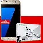 Vodafone Flat Allnet mtl. 24,99 Euro + Galaxy S7 + Xbox One S für einmalig 1€ – Effektiver Gewinn!