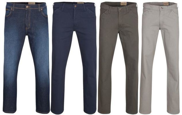 Wrangler Texas   Herren Stretch Jeans statt 46€ für 24,99€