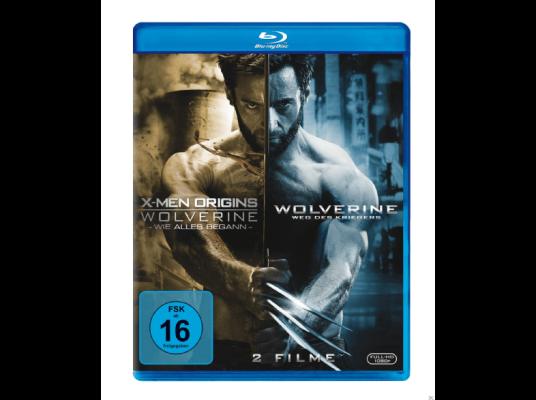 Wolverine Doppelpack für 6,49€ (statt 15€) bzw. Weg des Kriegers   Directors Cut (Blu Ray) für 7,49€ (statt 13€)