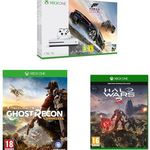 Xbox One S (1TB Konsole) + Forza Horizon 3 + Ghost Recon Wildlands + Halo Wars 2 für 321,13€ (statt 436€)