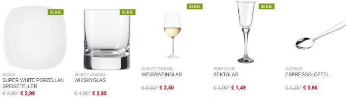 XXXL Shop mit 10€ Gutschein auf: Kochen, Essen, Deko &  Textil ab 20€ MBW!