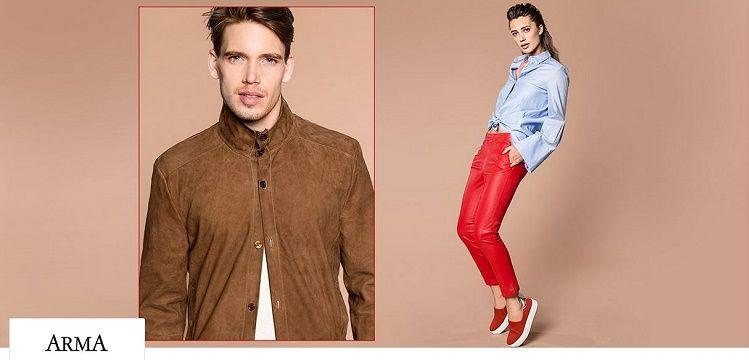 Arma Sale mit bis zu 65% Rabatt   verschiedene Mode aus Leder z.B. Jacken ab 91,50€