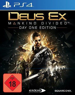 Deus Ex – Mankind Divided   Day One Edition (PS4) für 8,99€ (statt 15€)